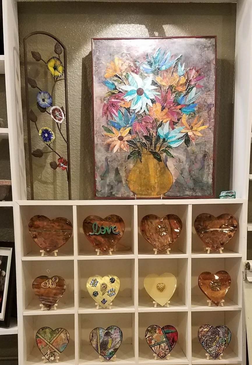 Flowers and Love abound in our shop!
