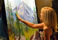 Lyn Finger Painting 1077831_10201723598041447_670579291_o